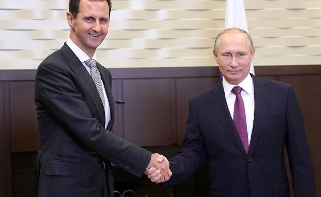Putin ve Esad, Soçi'de görüştü