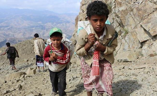 Yemen 'dünyanın en büyük açlık felaketiyle karşı karşıya'