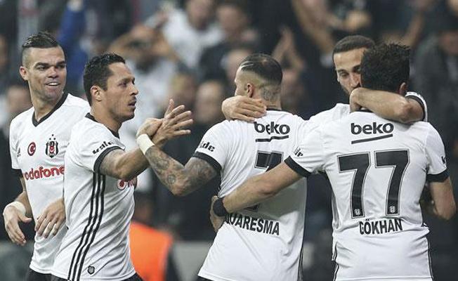 Beşiktaş sahasında lider Galatasaray'ı 3-0 mağlup etti