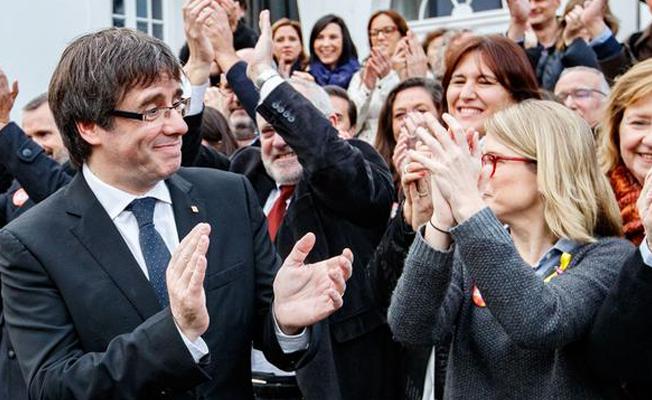 Katalan liderlerin kefalet talebi reddedildi