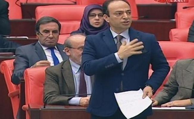 Meclis Başkanvekili 'Kürdistan neresi' diye sordu, Baydemir kalbini gösterdi: Şurası