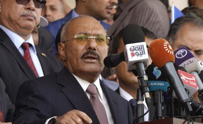 Yemen'de eski Devlet Başkanı Salih öldürüldü