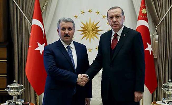 BBP Genel Başkanı: Erdoğan, AK Parti'ye katılmam için teklifte bulundu
