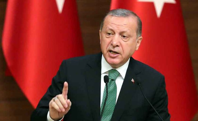 Erdoğan: Bir haftayı bulmaz Afrin'i başlarına yıkacağız