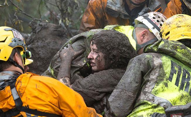 Kaliforniya'daki selde 15 kişi hayatını kaybetti
