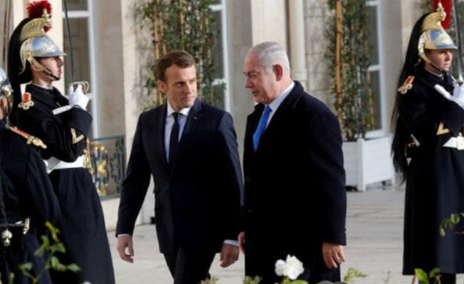 Macron'dan Netanyahu'ya İran çağrısı