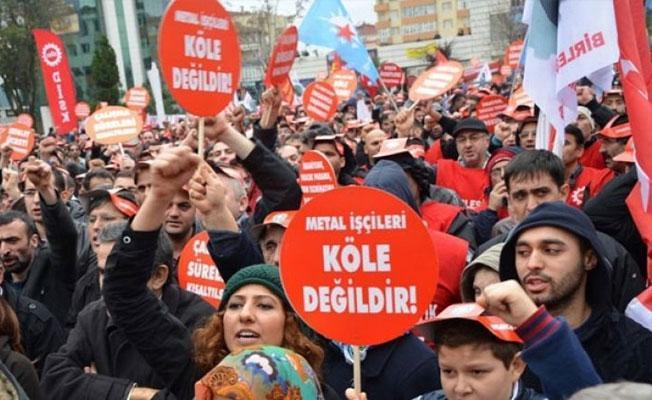 Metal işçilerinden MESS'e karşı grev çağrısı