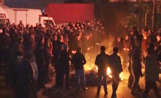 İstanbul'da tahliyeye karşı işgal eylemi