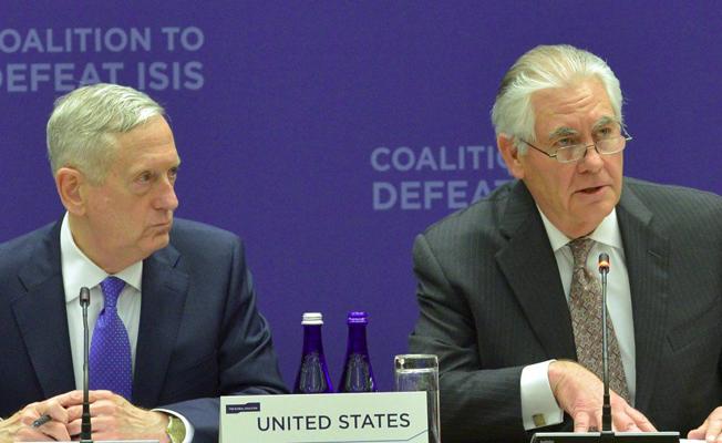 ABD'den çifte ziyaret: Tillerson ve Mattis Ankara'da temaslarda bulunacak