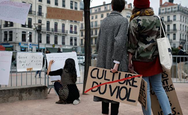 'Fransa'da her 8 kadından biri cinsel saldırıya uğradı'