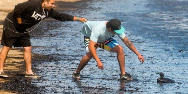 21 bin varil petrol okyanusa sızdı