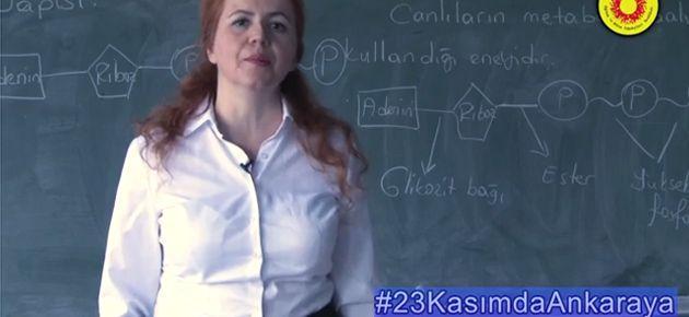 #23KasımdaAnkaraya mitingi için sosyal medya kampanyası