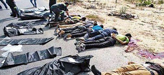 25 polisin infaz görüntüleri sızdı