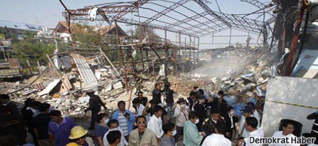 2. Dünya Savaşı'ndan kalma bomba patladı: 7 ölü
