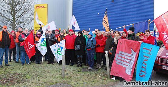 30 DHL işçisi için #26martküreseleylemgünü