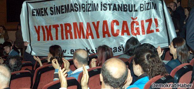 350 sinemacı SEVGİ EMEK'TİR! dedi