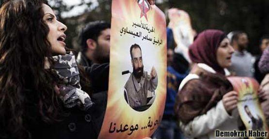 3 bin Filistinli tutuklu bir günlük açlık grevinde