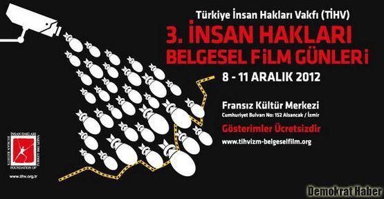 3. İnsan Hakları Belgesel Film Günleri başlıyor