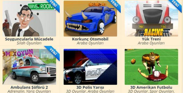3D Oyunlar Oyna
