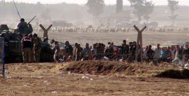 '400 bin Suriyeli Kürt Türkiye'ye göç edecek'