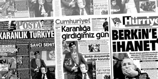 4 gazete hakkında 'terör propagandası' soruşturması