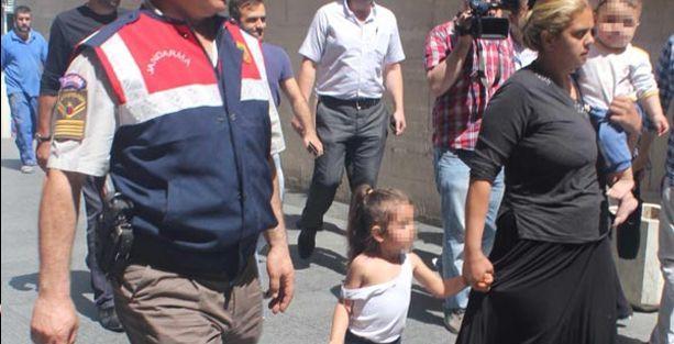 4 yaşındaki C.A, 1 yaşındaki kardeşiyle şimdi cezaevinde!