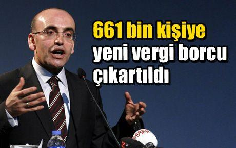 661 bin kişiye yeni vergi borcu çıkartıldı