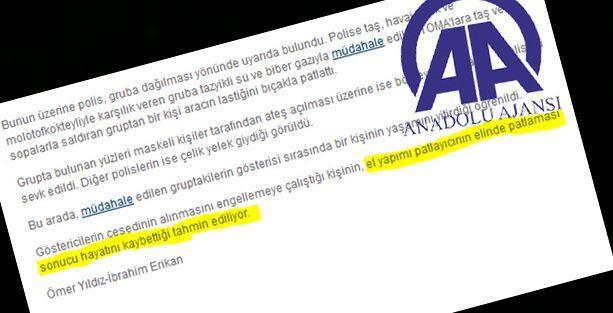 AA, Aras'la ilgili 'tahmin' haberi yaptı, Emniyet de yalanı yineledi