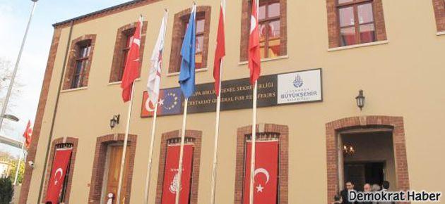 AB Ofisi olarak kullanılan İstanbul Rum Okulu'na iade