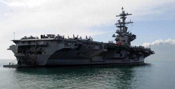 ABD, Irak'a uçak gemisi gönderdi