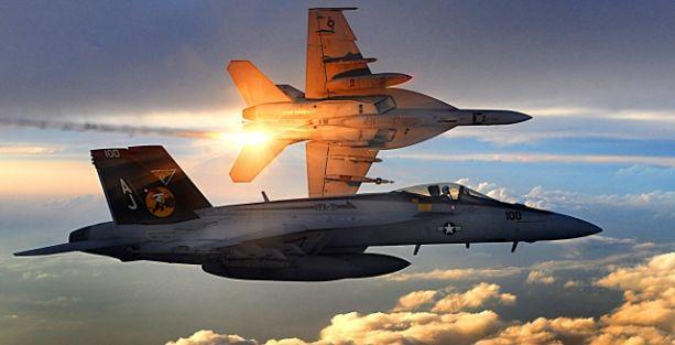 ABD uçakları IŞİD'e ait zırhlı aracı vurdu