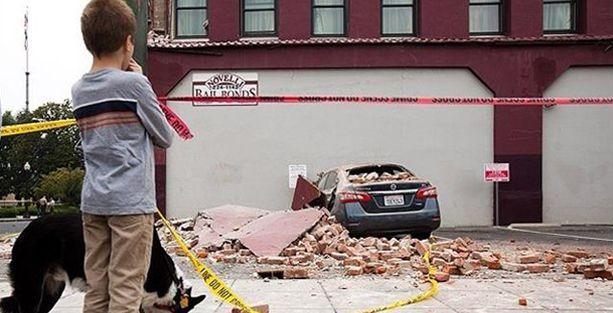 ABD'de deprem: 87 yaralı