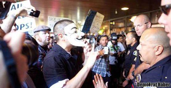 ABD'de polis şiddetine isyan