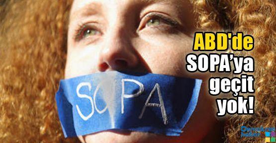 ABD'de SOPA'ya geçit yok!
