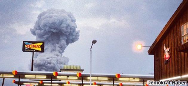 ABD'de yeni bir patlama