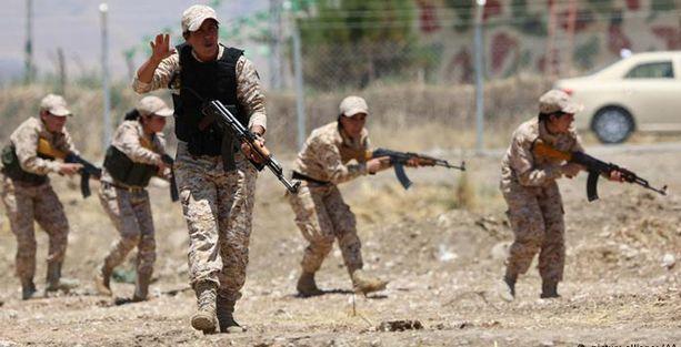 ABD'den Kürdistan'a askeri personel