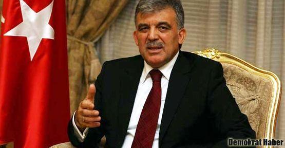 Abdullah Gül'den Başbakan'a cevap