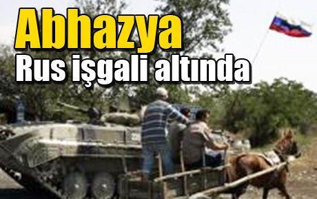 Abhazya Rus işgali altında