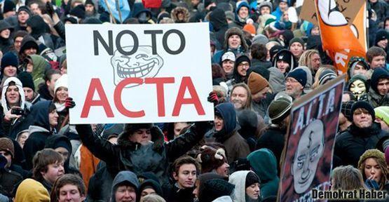 ACTA'ya onay çıkmadı