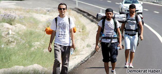 'Adalet Yürüyüşçüleri'ne her ilde GBT sorgusu