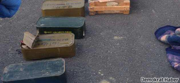 Adana'da iki mermi otobüsü yakalandı