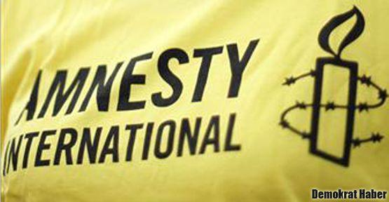 Af Örgütü Türkiye'yi uyardı