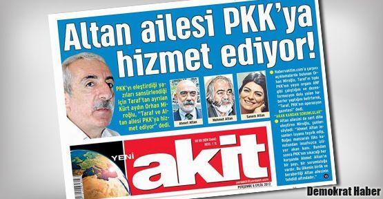 Ahmet Altan'ı hedef göstermek basın özgürlüğü!