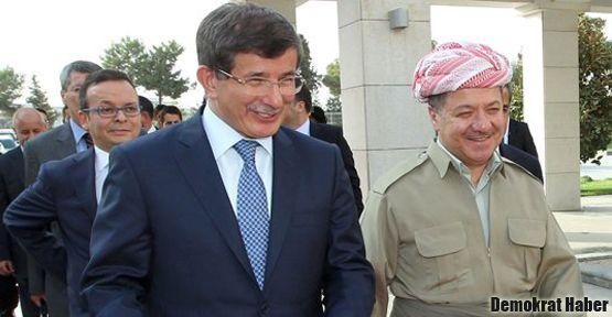 Ahmet Davutoğlu Barzani'yle görüştü