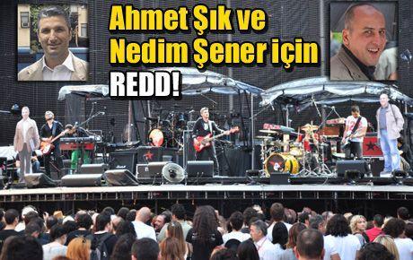 Ahmet Şık ve Nedim Şener için REDD!