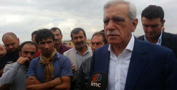 Ahmet Türk: IŞİD'e sessiz kalınırken, çözüm sürecine inanamayız