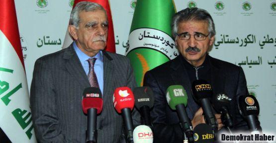 Ahmet Türk: Kandil'in bombalanması sürece inancı zayıflatıyor