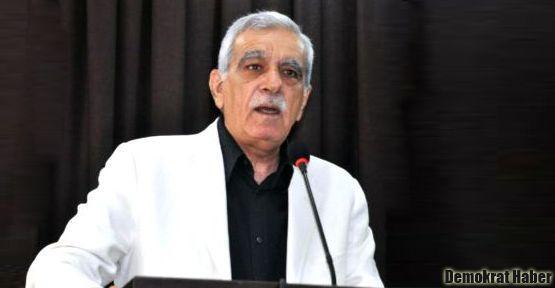 Ahmet Türk: Kimse Kürt halkına, siyasetçisine 'kalleş' diyemez