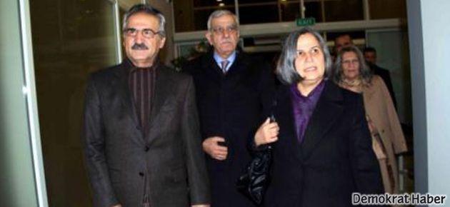 Ahmet Türk ve Gültan Kışanak Kandil'e gitti