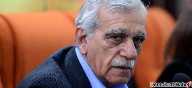 Ahmet Türk'e 35 yıl istenen dava düştü